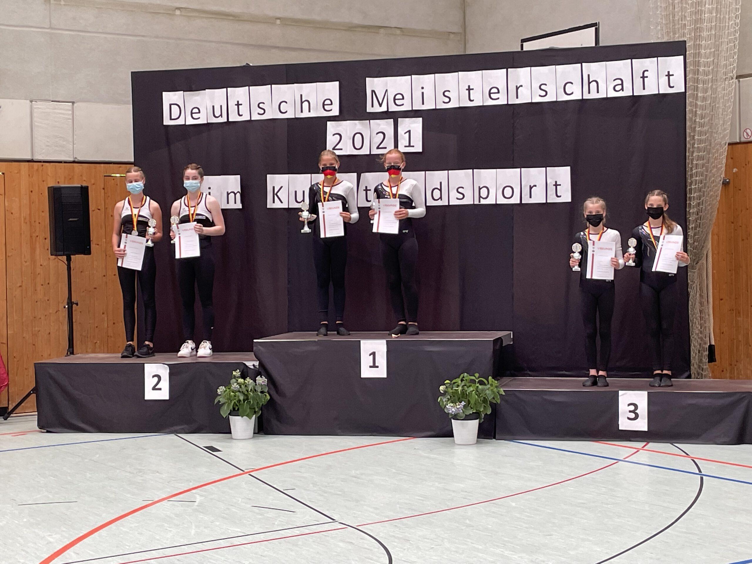 Deutsche Meisterschaften im Kunstradfahren der Schüler*innen und Junioren*innen